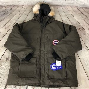 Vintage Canada Goose 4X Expedition Olive NWT